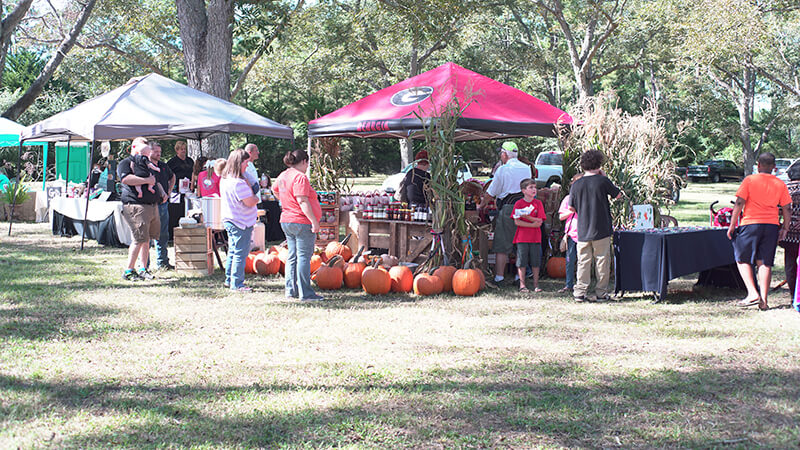 Whigham Farmers Market Booth